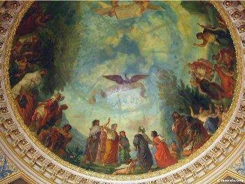Divine Comédie, les limbes selon Delacroix (Coupole du Sénat)
