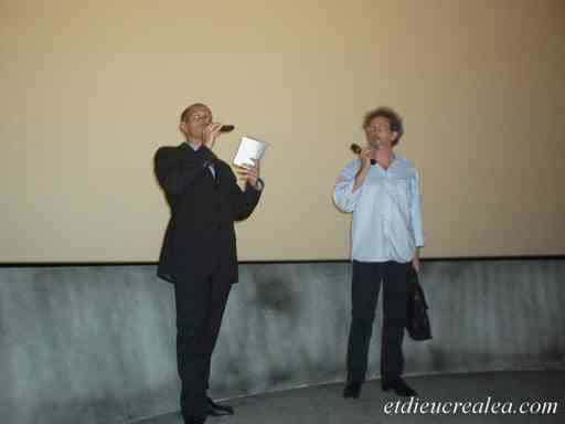 Mr Guediguian (à droite) et Mr Avant Première^^