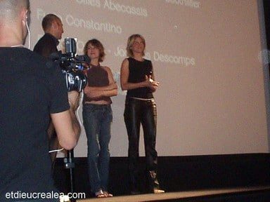 Marie Josée et Alice Taglioni et Laurent Tirard
