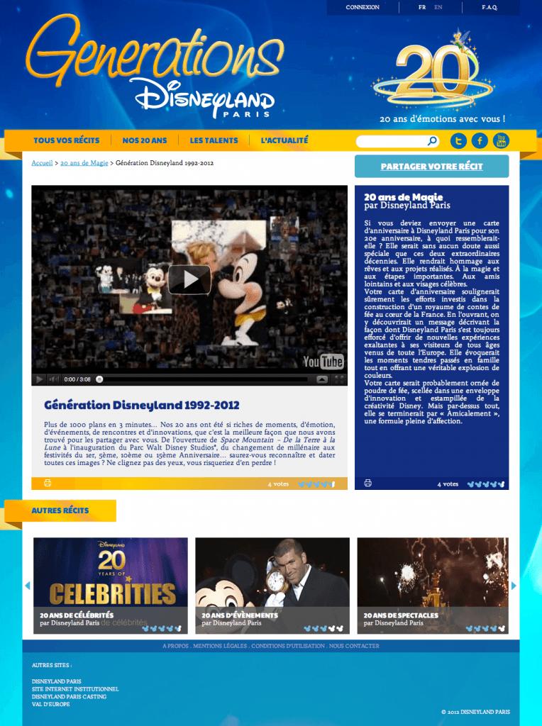 Disneyland Paris Generations - Blog