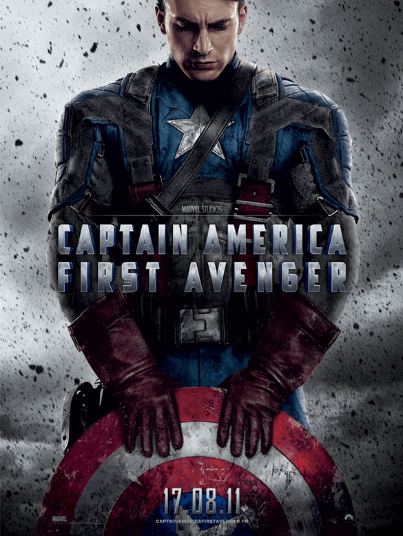 Marathon Marvel - Affiche Captain America