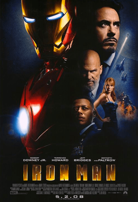 Marathon Marvel - Affiche Iron Man