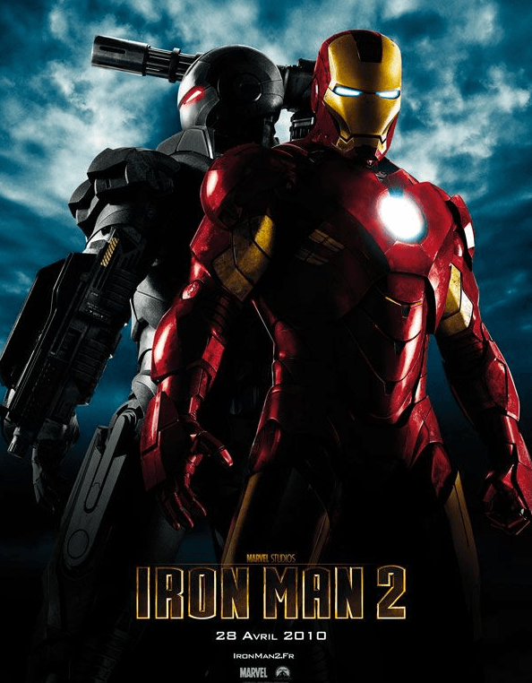 Marathon Marvel - Affiche Iron Man 2