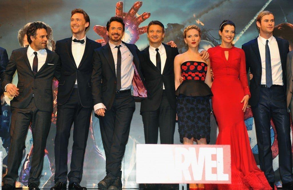 Marvel Avengers Assemble - European Premiere - Inside Arrivals