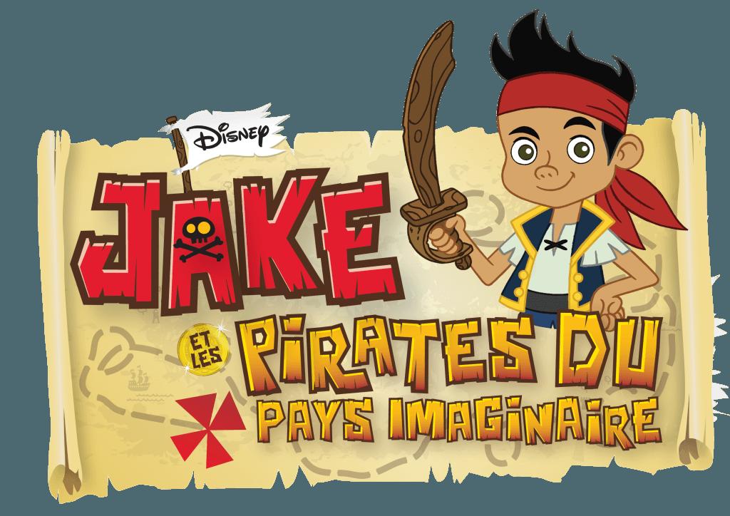 Jake et les Pirates du Pays Imaginaire - Logo