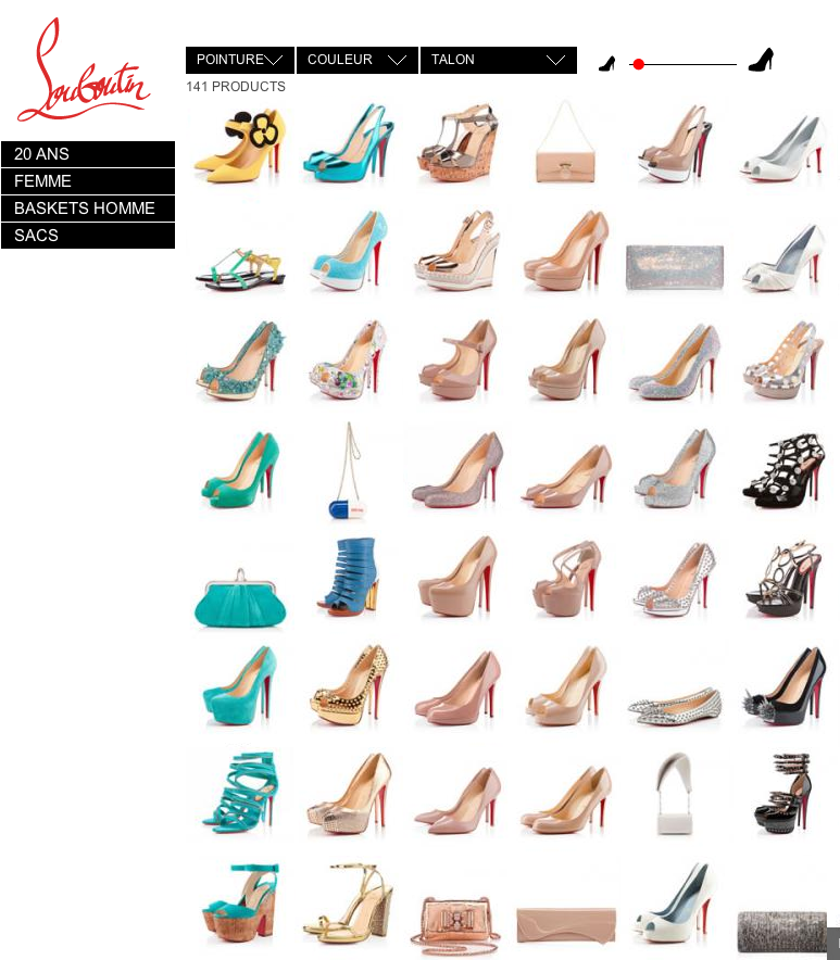 Christian Louboutin - Website - Shop