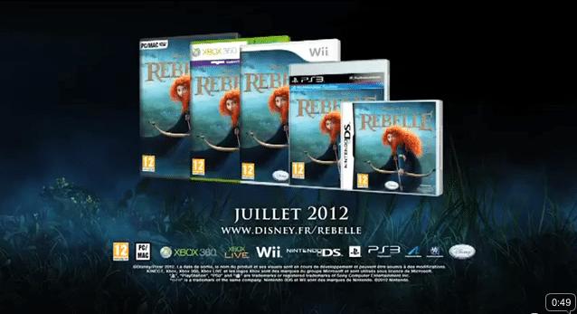Rebelle - Jeux Vidéos - PC Xbox Wii Xbox PS3 DS
