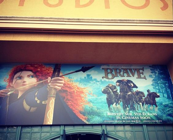 Walt Disney Studios Affiche Brave