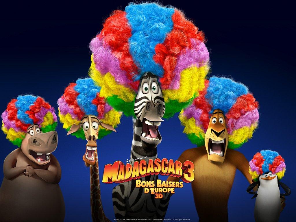 Madagascar 3 - Affiche - Afro Groupe
