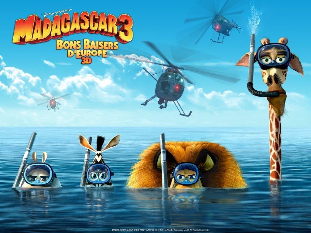 Madagascar 3 - Affiche - Tubas