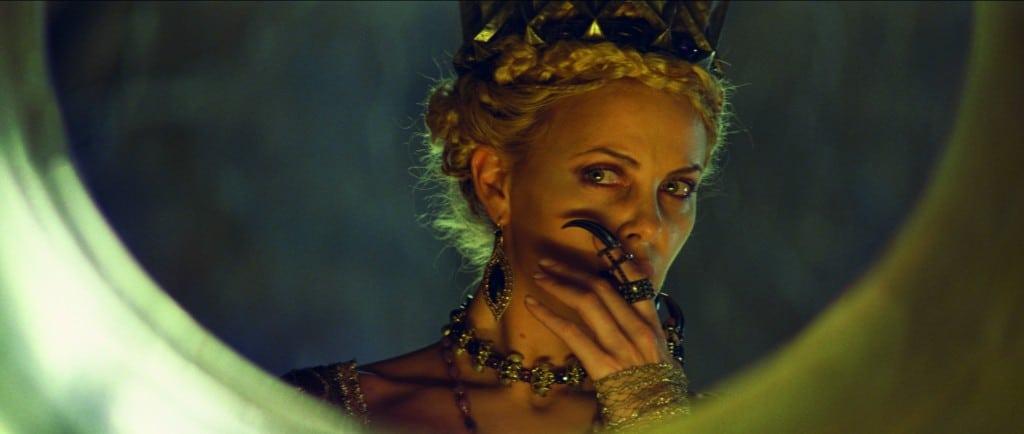 Blanche Neige et le Chasseur - La Reine - Visage