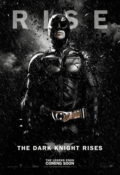 Affiche Dark Knight Rises Batman