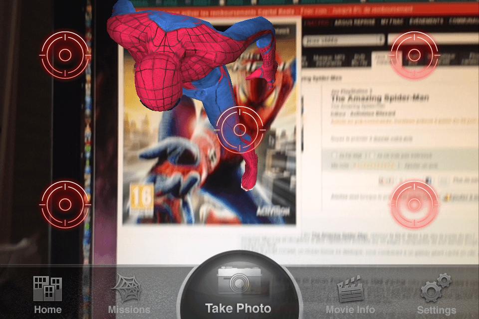 The Amazing Spiderman - AR - App 7 - Mission réalisée
