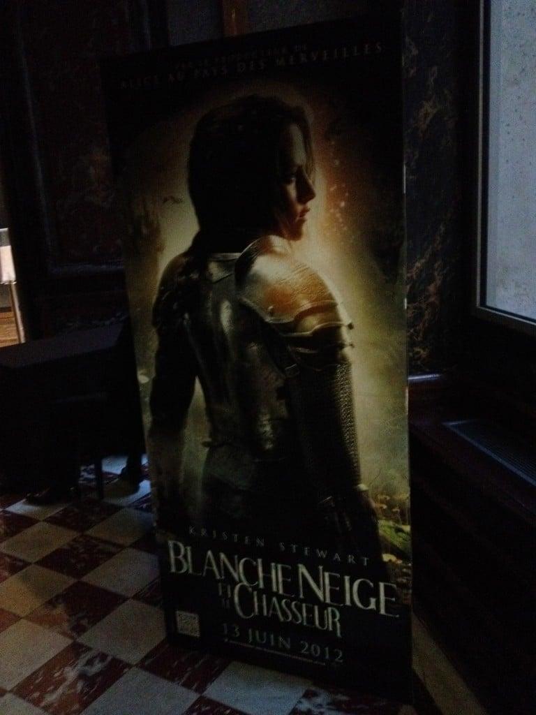 Affiche Blanche Neige et le Chasseur - Kristen Stewart