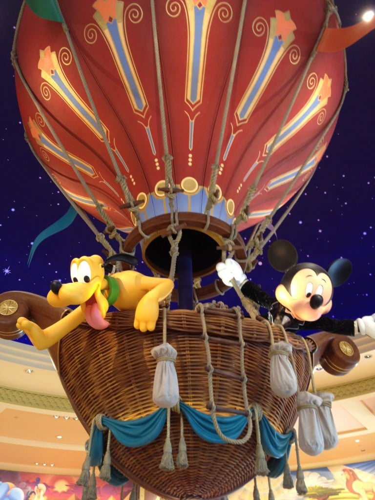 Disneyland Paris - World of Disney - Montgolfière