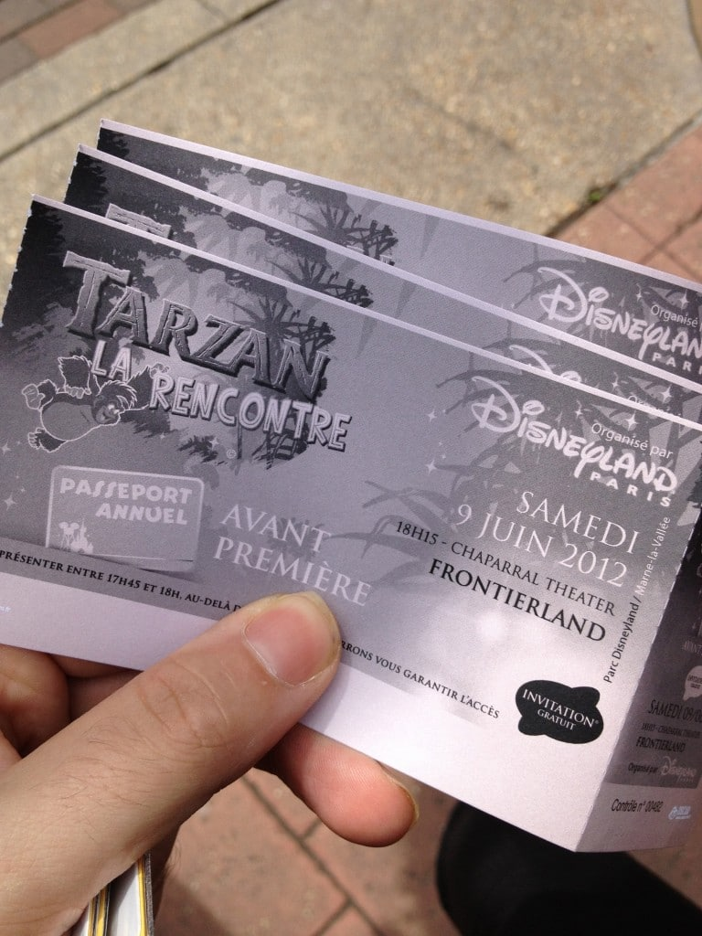 Billets d'entrée - Tarzan La Rencontre - Représentation Passeports Annuels Dream