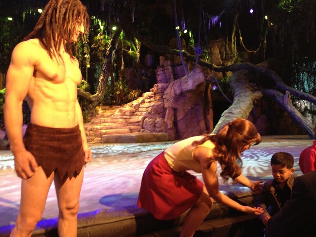 Autographes et Photos Tarzan et Jane - Tarzan La Rencontre - Représentation Passeports Annuels Dream