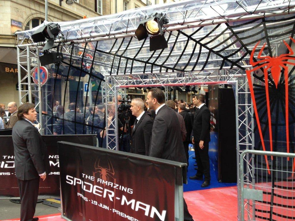 Avant Première Amazing Spiderman - Photo Call