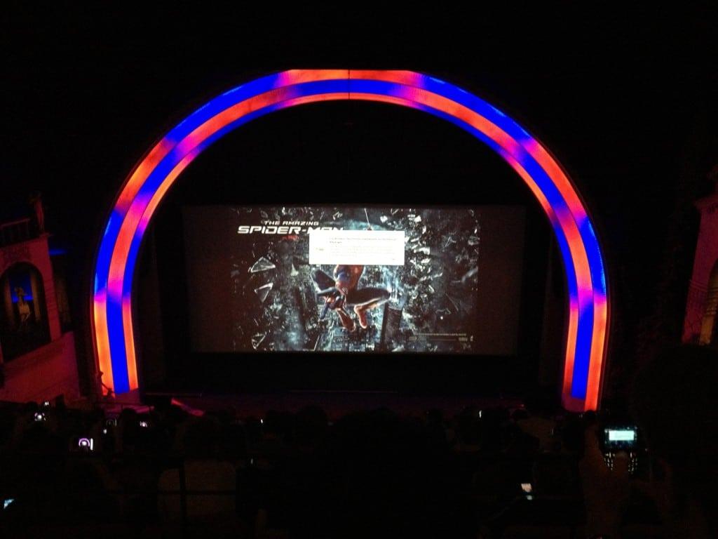 Avant Première Amazing Spiderman - Petit problème de batterie