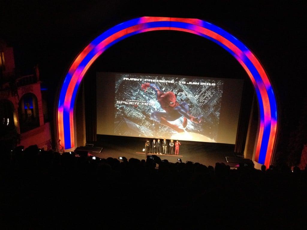 Avant Première Amazing Spiderman - Equipe du film 2