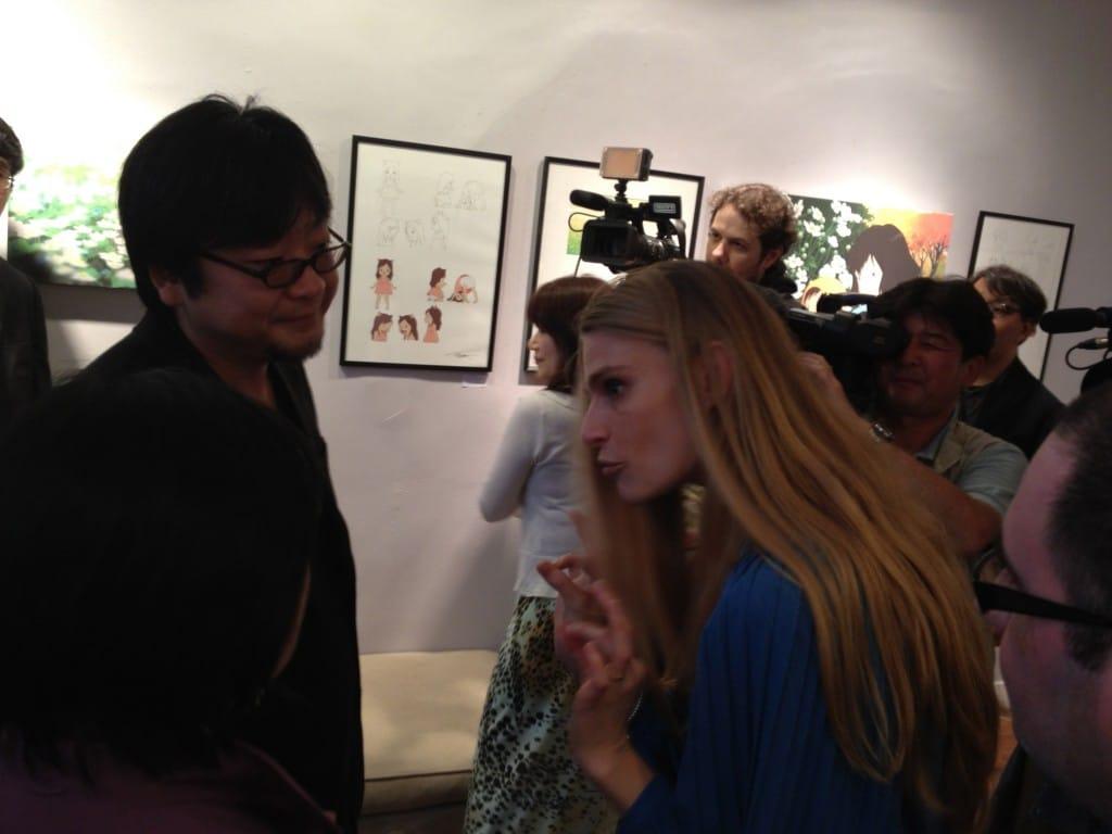 Galerie Arludik : Diane Launier accueille Mamoru Hosoda
