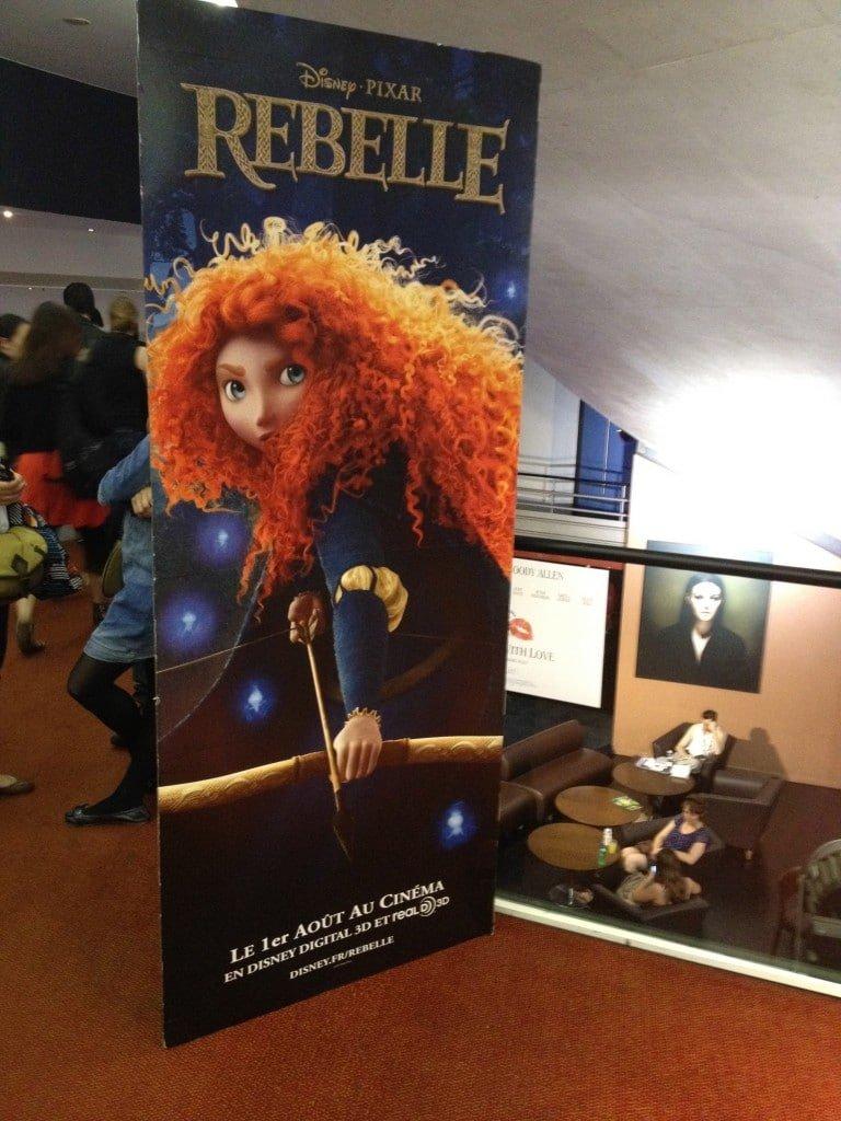 Décoration Rebelle Brave UGC Ciné Cité Les Halles 1