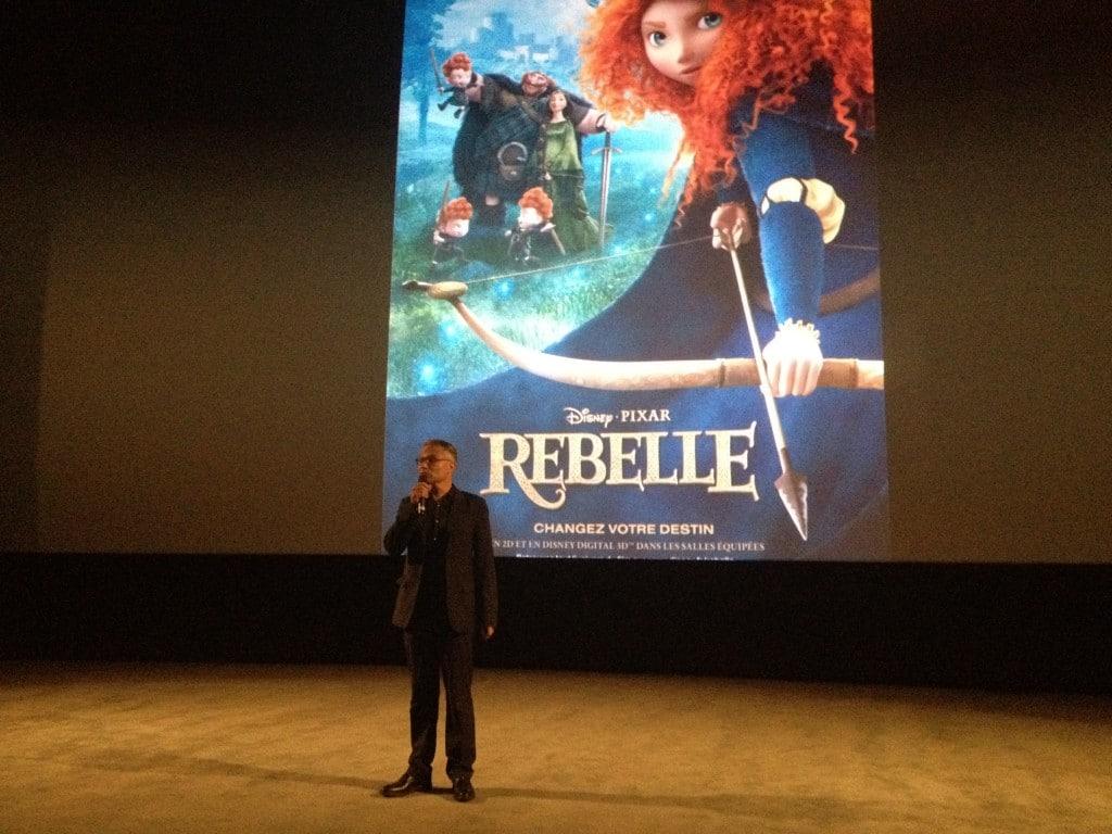 Avant Première Brave Rebelle - Jean François Camilleri -  Président de The Walt Disney Company France