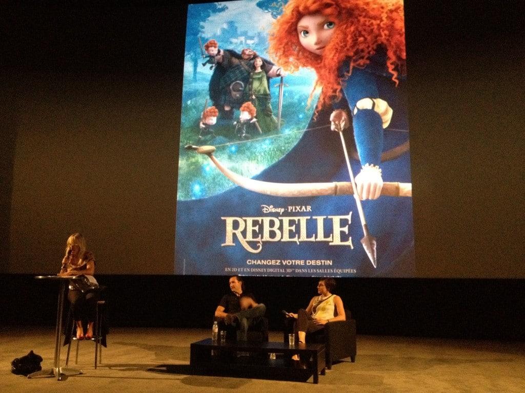 Avant Première Brave Rebelle - Mark Andrews - Katherine Sarafian - Béatrice Wachsberger
