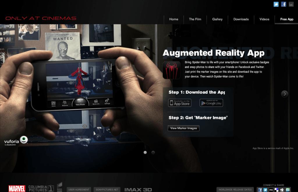 The Amazing Spiderman - AR - Web 1