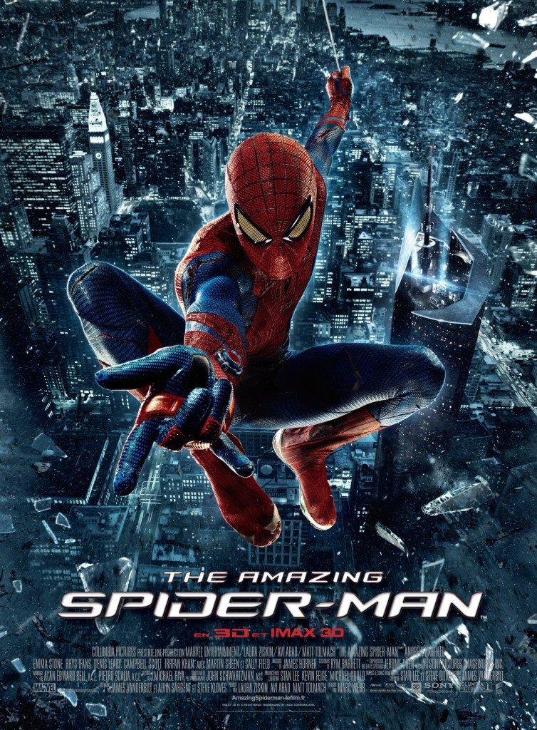 Affiche France Amazing Spiderman
