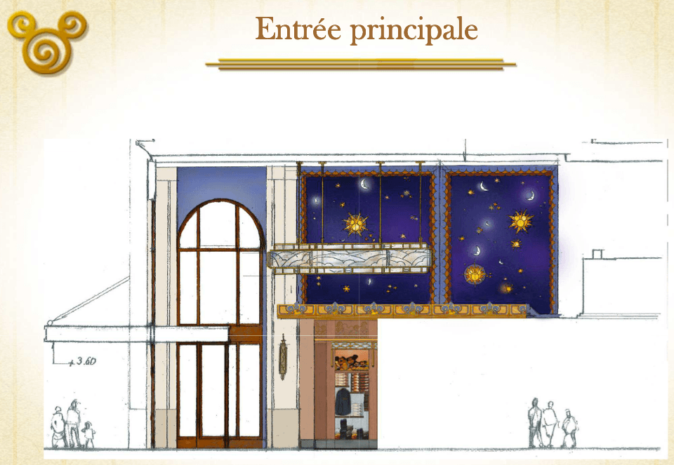 World of Disney - Entree principale - Concept
