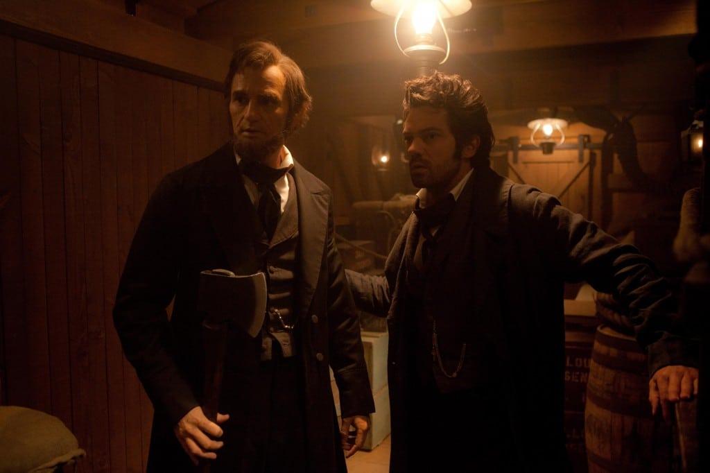 Abraham Lincoln - Chasseur de Vampires - Avec son professeur de chasse