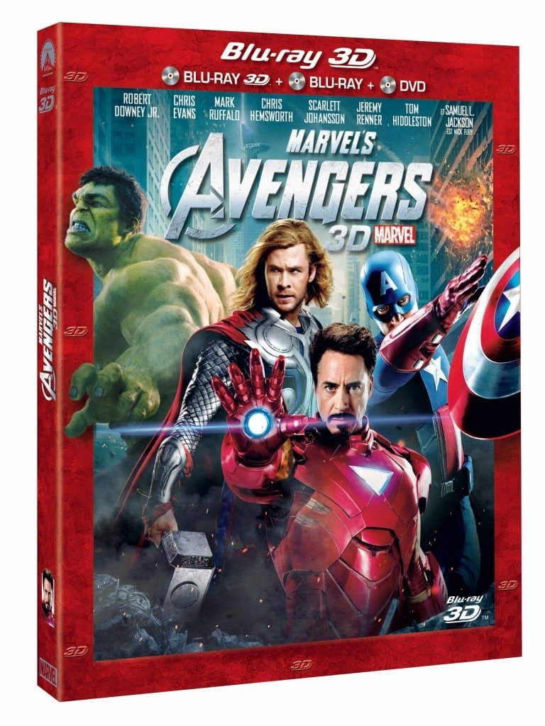 Avengers BLU-RAY-3D