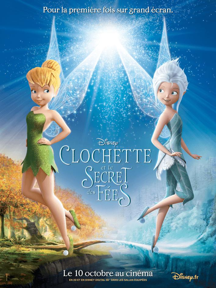 Affiche officielle française Clochette et le secret des fées
