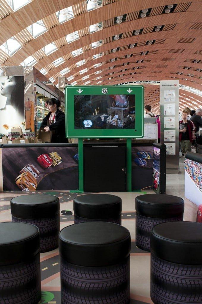 Aéroport de Paris - Aire de Jeux Disney 2