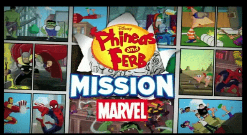 Phineas et Ferb Mission Marvel Disney XD