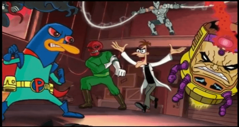 Phineas et Ferb Mission Marvel Disney XD - Les Villains