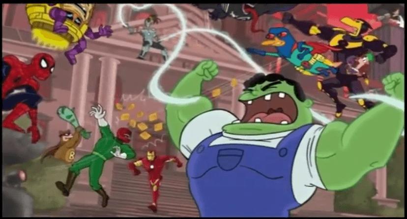 Phineas et Ferb Mission Marvel Disney XD - Les super-héros 2