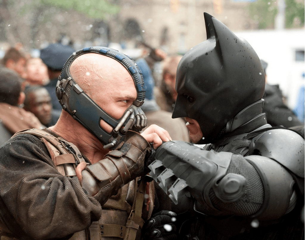 The Dark Knight Rises - Bane et Batman