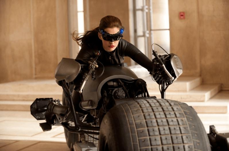The Dark Knight Rises - Catwoman sur la Bat-Pod
