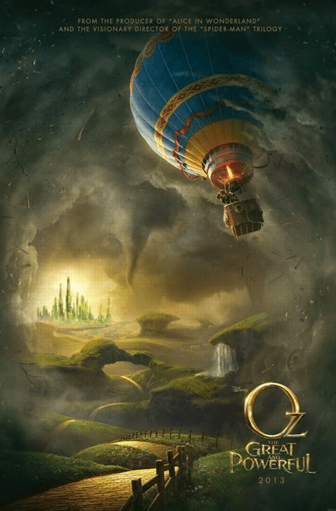 Affiche Oz The Great and Powerful