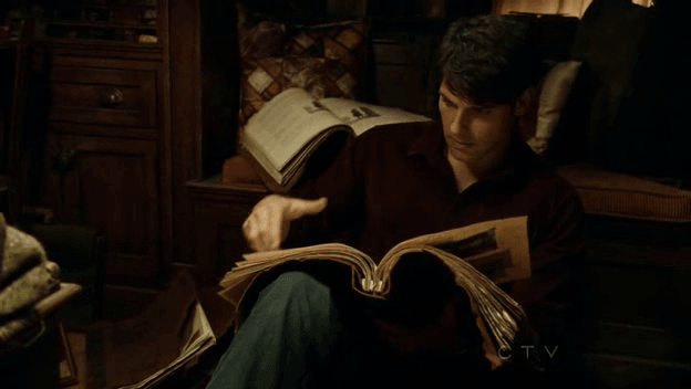 Grimm - Nick and Books