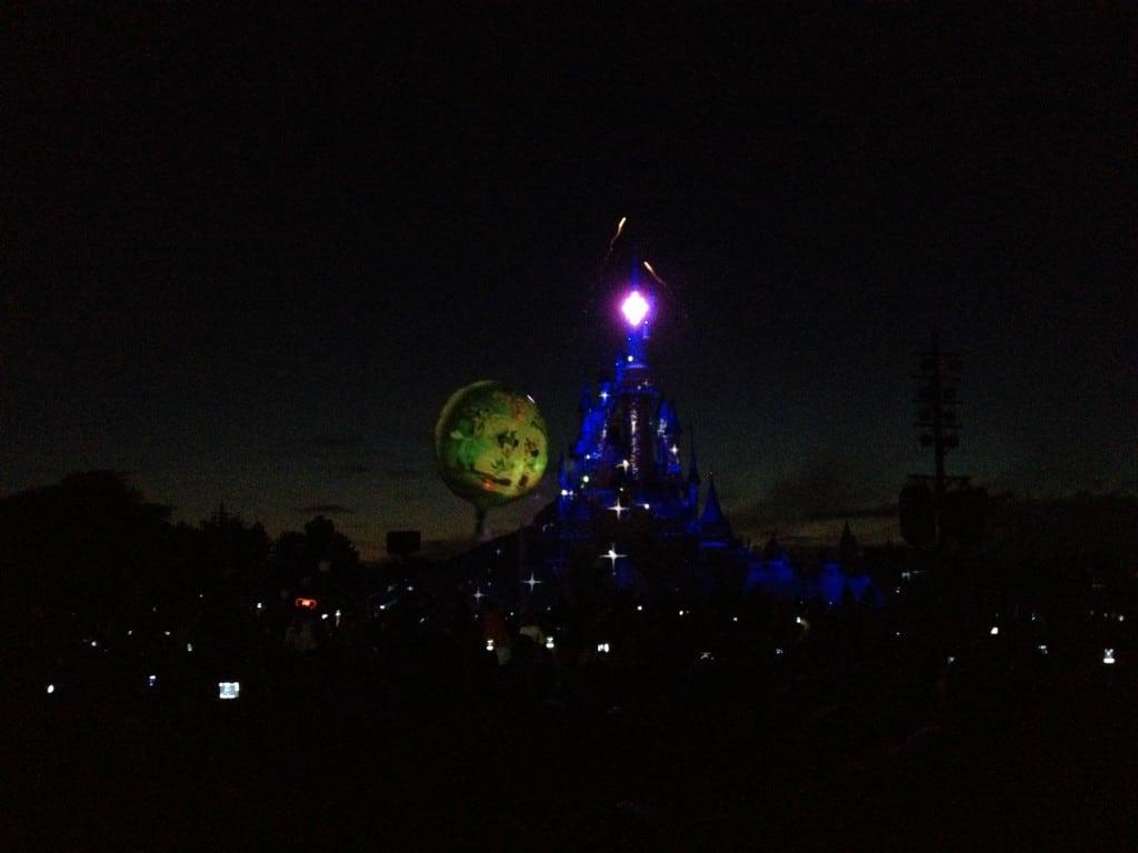 Disney Dreams 14 Juillet 2012 et Ballon