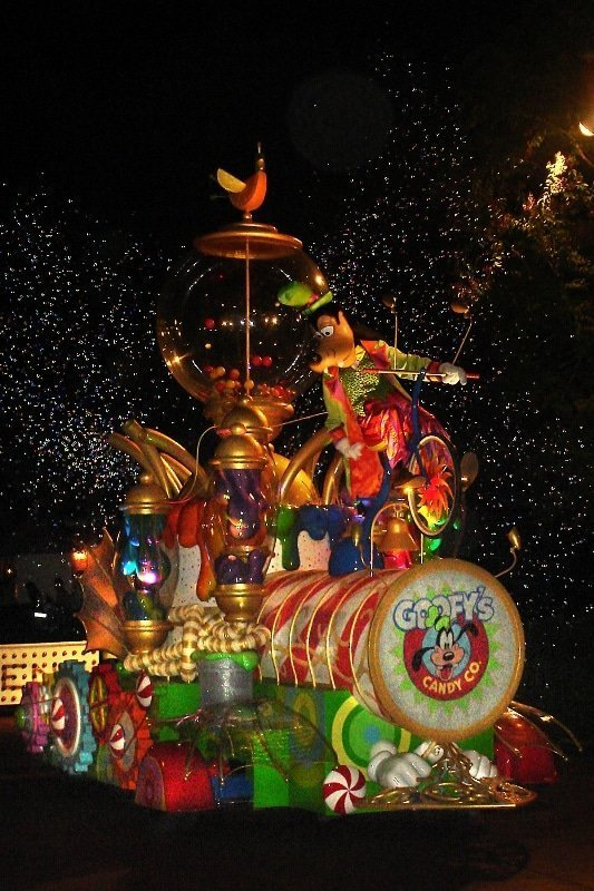Technicolor candy machine