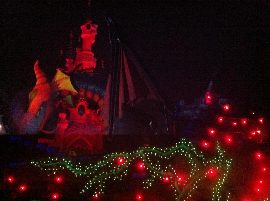 Fantillusion 2011 - Maléfique Maleficent Show Stop Castle