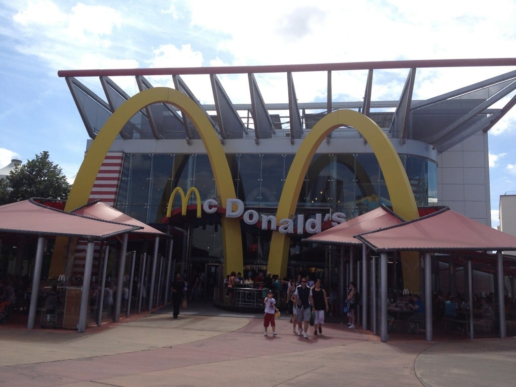 Disney Village - Mc Donald's