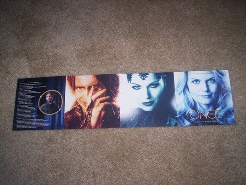 Once Upon a Time - Soundtrack - Booklet1