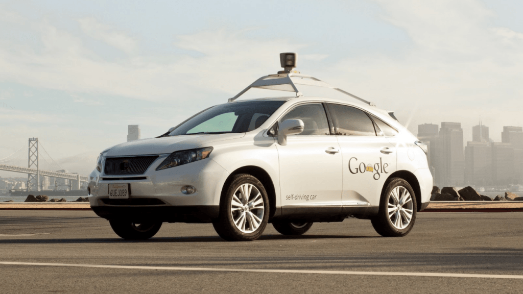 Lexus Google self-driving car