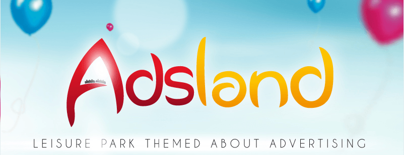 Adsland - Theme Park about advertising - Logo