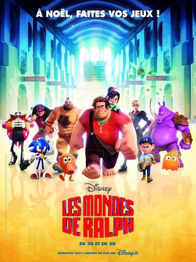 Le Monde de Ralph - L'affiche française officielle
